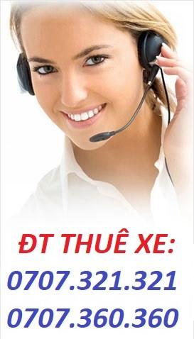 Hotline Thuê Xe Du Lịch TPHCM